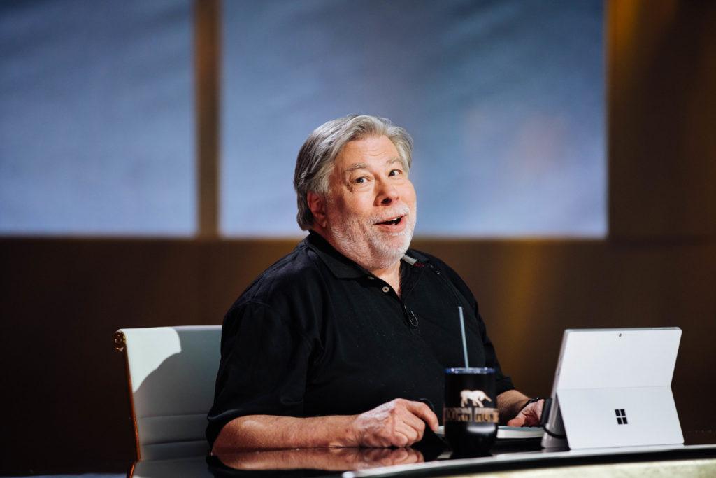 Unicorn Hunters set with Steve Wozniak