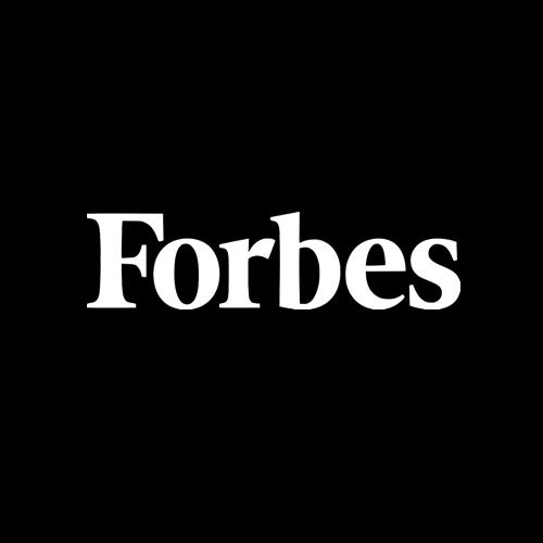 Forbes Logo white